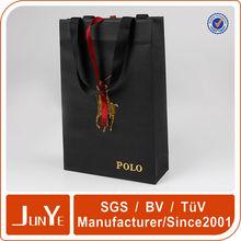 Luxo promoção decorativas nome da empresa de saco de papel