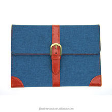 Wholesale High quality Canvas belt tablet accessory case for Apple ipad mini cover
