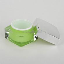 cosmetic fresh square acrylic jar