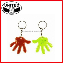 2015 Best Promotion Give Away Gifts, Reflective PVC Keychain for Kids