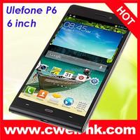MTK6582 Quad Core 6.0 Inch HD Screen 3G smartphone Ulefone P6
