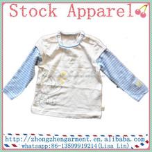 Desgaste de los cabritos t-shirt impresión / de los niños ropa barata china / venta al por mayor camiseta del muchacho