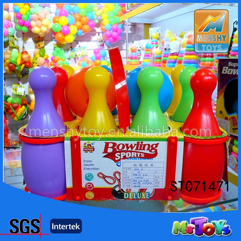 Outdoor Toys Product : New product outdoor plastics sport toys bowling set
