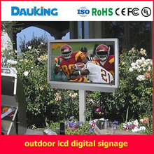 46 inch outdoor wall mounted air cooling sunlight readable water proof LCD TV