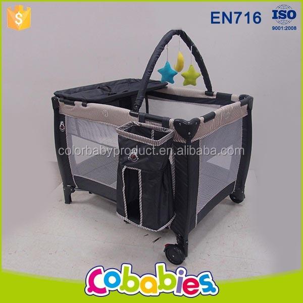 Colorido Bebé Muebles de Diseño Puerta De Hierro Cunas Corrales ...