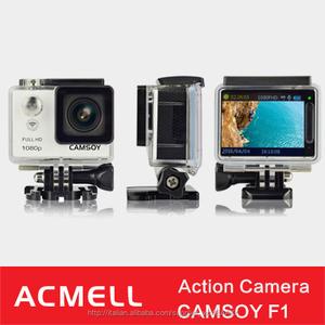 2 pollici schermo 1080p sj supporto 6000 telecamera 30m impermeabile