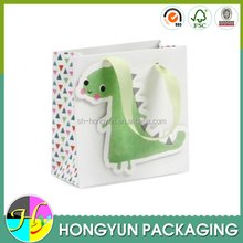 Small dinosaur paper bag gift packaging supplies