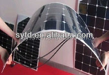 90W Semi Flexible Solar Panel suitable for marine enviroment (ISO,CE.IEC.TUV approved)