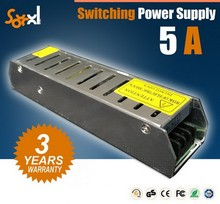 China supplier 12V 60W High efficiency led power supply IP 67 waterproof