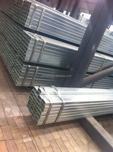 BS1387 Pre / hot dipped Galvanized Welded Rectangular / Square Steel Pipe/Tube/Hollow Section/SHS / RHS