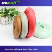 supplier and manufacturer of rubber glass door edge protection for sharp corner from China, Hebei