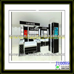 jewelry shop interior design/black jewelry display/mall jewelry kiosk sale
