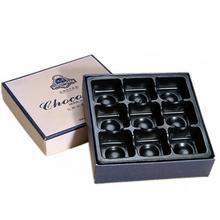 chocolate chip caja de chocolate galletas de embalaje