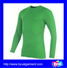 Promotional sports long sleeve dry fit tshirt bodybuilding high quality