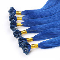 2015 Best selling no tangle no shedding silk straight cartoon characters blue hair