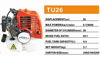 2015 new style high efficient two stroke small gasoline/petrol engine for garden tools