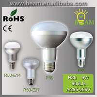 2015 hot new Aluminium smd e14 r39 r50 r63 r80 e27 led bulb