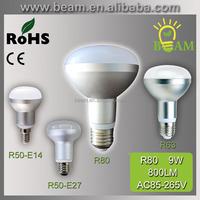 2015 hot new Aluminium smd e14 r39 r50 r63 r80 e27 led bulb