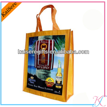 Non Woven Die Cut shopping bag , gift bag