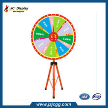 Trade Show Display Game Turntable PVC Board Prize Wheel