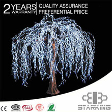 Top products christmas garden decorative holiday light zhongshan led willow tree