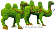 High imitation artificial grass animal decorative topiary green animals