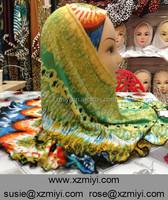 colourful dubai jersey cotton hotsell two peices arab muslim hijab islamic scarf