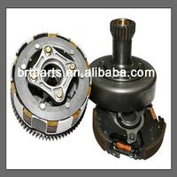 ATV parts 250cc clutch black aluminum wheel