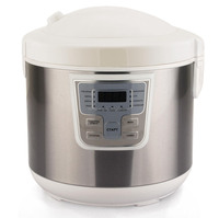 2014 hot sell LED electric 5L multi cooker multi rice cooker with GS CE CB