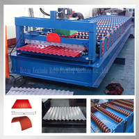 Steel metal corrugated iron sheet cold roll forming line