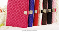 2014 tablet leather cases for Samsung tab 3 ,hight quality with diamond metal for tab3