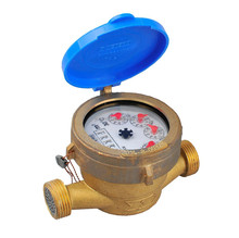Single jet brass body digital smart water flow meter