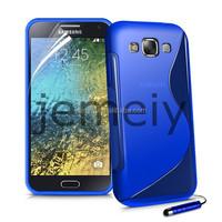 New Arrival S Line Soft TPU Gel Case Back Cover for Samsung Grand E5 E500
