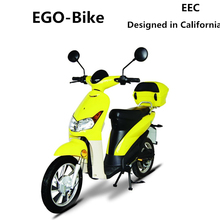 Swift,adult 2 wheel moped motorcycle pedal electric scooter