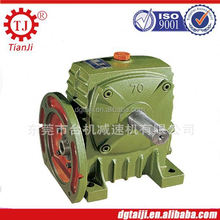for marine engineering big ratio and high power worm gearbox with flange