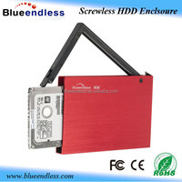 good quality external hard drive protective case hdd carrying case usb 2.0 sata 2.5 hard drive case
