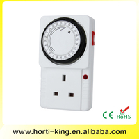 24 hour grounded switchable UK mechanical timer