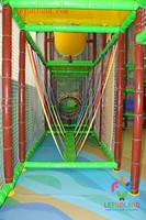 lefunland playground set-components inside the play structure