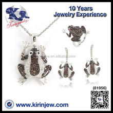 Wholesale Made in China fashion forg earring jewelry set