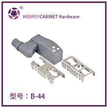 LED soft close hinge lamp with magnetism