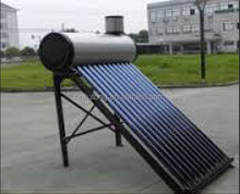 Nonpressuried Galvanized steel solar water heater with side 5 liter assistant tank