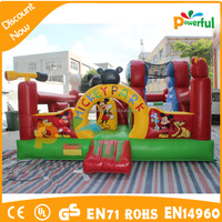amusement park bouncy castle inflatable bouncer jumping castle