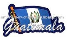 Embroidered Flag Badges For Fashion Dress