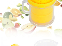 Ручные соковыжималки новая 400 мл соковыжималки многофункциональные пластиковые мини-плоды цитрусовых Соковыжималка