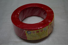building wrie/Copper/PVC insulated electric wires 450/750V