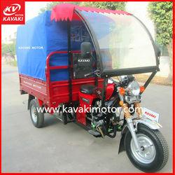 Chinese Three Wheel Motorcycle / 3 Wheel Motorcycle 2 Wheels Front