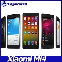 """Original Xiaomi Mi4 4G LTE Mobile Phone 5"""" Quad core Qualcomm Snapdragon 801 1920X1080P 3GB RAM 16GB 64GB ROM 8MP 13MP Camera"""
