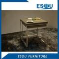 moderna pintura de alto brillo de madera mesa nido para mobiliariodesala