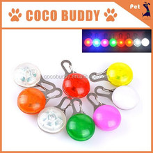 Circle LED Light Blinker Pendant For Dog Pet