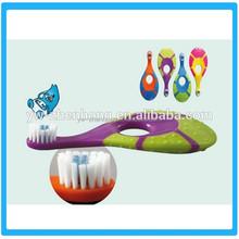 PP+TPE Children toothbrush/Tortoise Shaped Children Toothbrush/Kids Animal Toothbrush